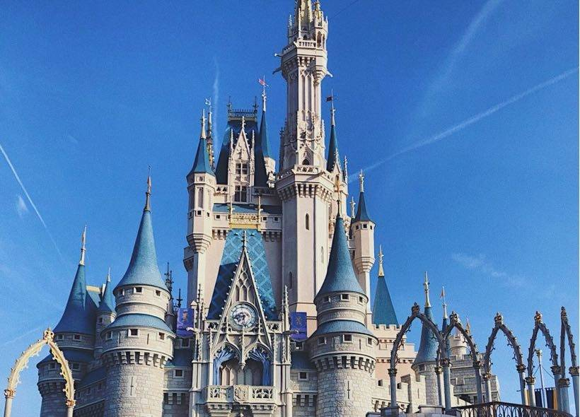 Disney World Florida Magic Kingdom Cinderella Castle
