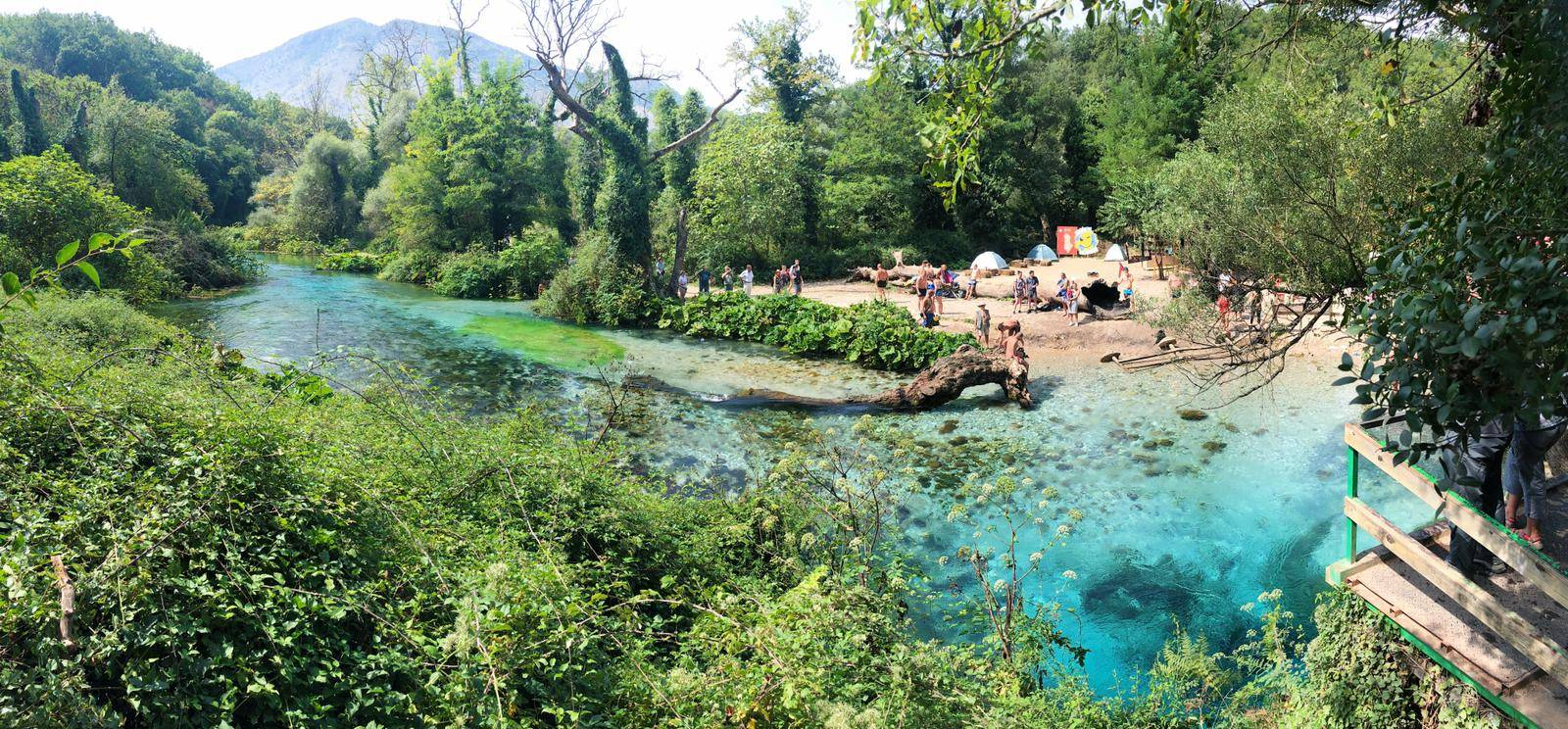 Blue Eye Albania Natural Spring
